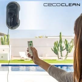 Cecoclean WinRobot - Robot Vinduespudser & Glasrenser - Blå Sort