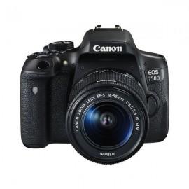 Canon EOS 750D Sort - Spejlreflekskamera