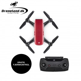 DJI Spark - Lava Red + GRATIS Controller