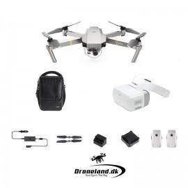 DJI Mavic Pro Platinum Fly More Combo drone startpakke + DJI Goggles FPV briller
