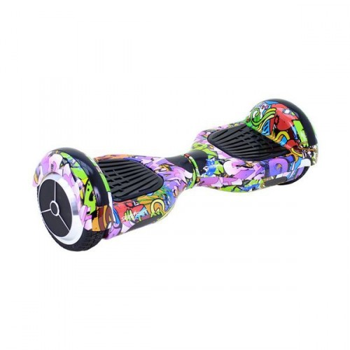 Electric Scooter Hoverboard Skate Flash K6 Bluetooth 500W Multicolour