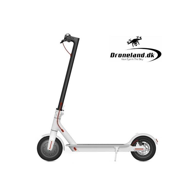 "Elscooter BRIGMTON BSK-800 8"" LED 350W - El-Løbhjul i hvid farve"