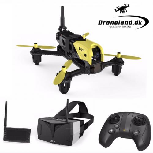 FPV Pakketilbud: Hubsan X4 Storm H122D FPV race drone + FPV briller + Skærm