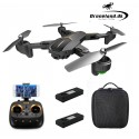 Package bundle offer: Visuo Private Eyes GPS 5G WiFi FPV Drone with 5MP HD camera + Storage bag + FREE extra battery