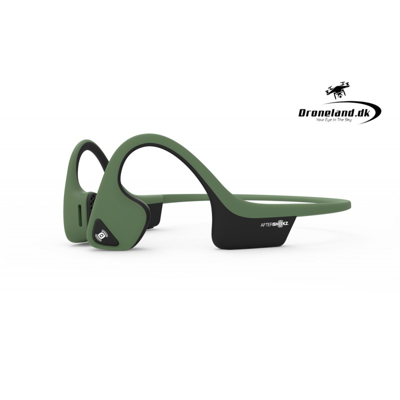 AfterShokz Trekz Air Hovedtelefoner Forest Green - Grøn thumbnail