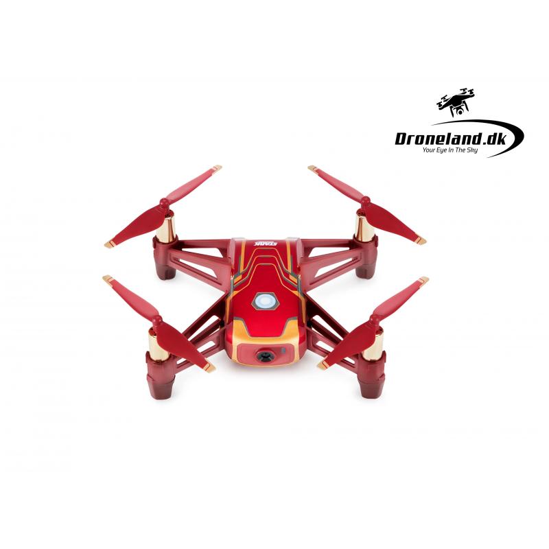 DJI Ryze Tello Iron Man Edition – mini drone med 5MP HD kamera