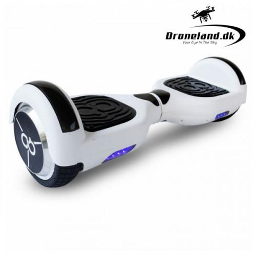 """Skate Flash K6+ 6,5"""" Bluetooth 500W Hvid segboard og hoverboard"""