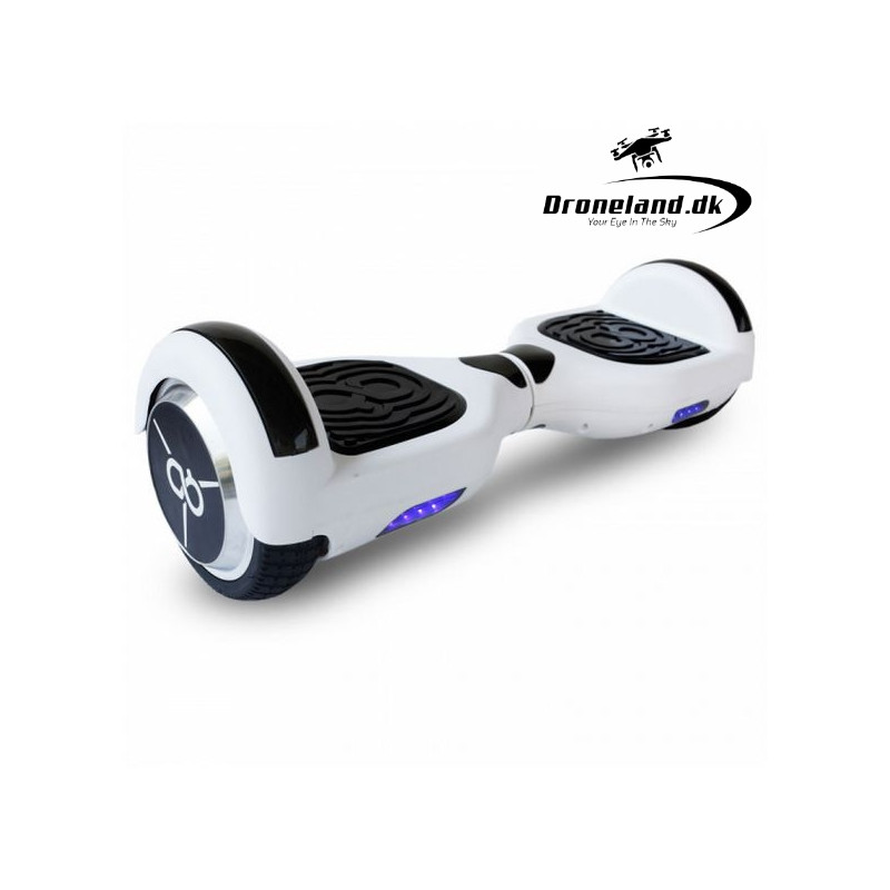 """Electric Scooter Hoverboard Skate Flash K6+ 6,5"""" Bluetooth 500W White"""