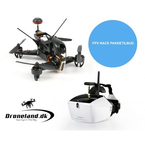 FPV drone racing bundle: Walkera F210 + Goggle 4 FPV Goggles
