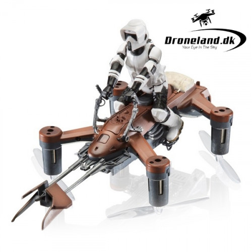 Star Wars Speed Bike - kamp drone - brun