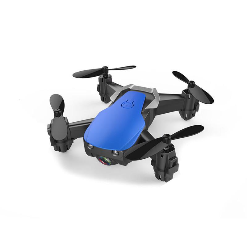 Eachine E61 – Indendørs FPV mikro drone med HD kamera – Begynder drone og øve drone – Vælg farve – Blå