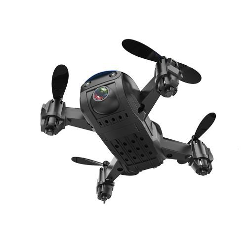 Eachine E61 indendørs mikro drone med HD kamera - Rød