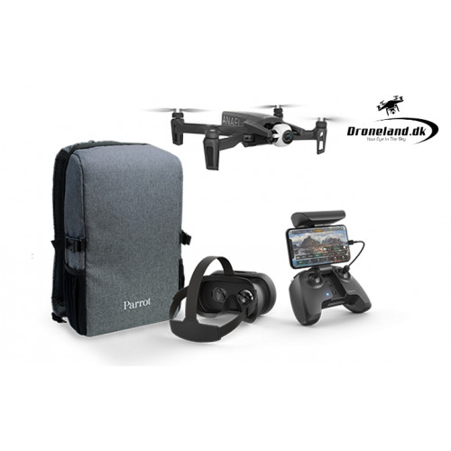 Parrot Anafi FPV - Drone med 4K HDR Kamera & zoom funktion + FPV briller