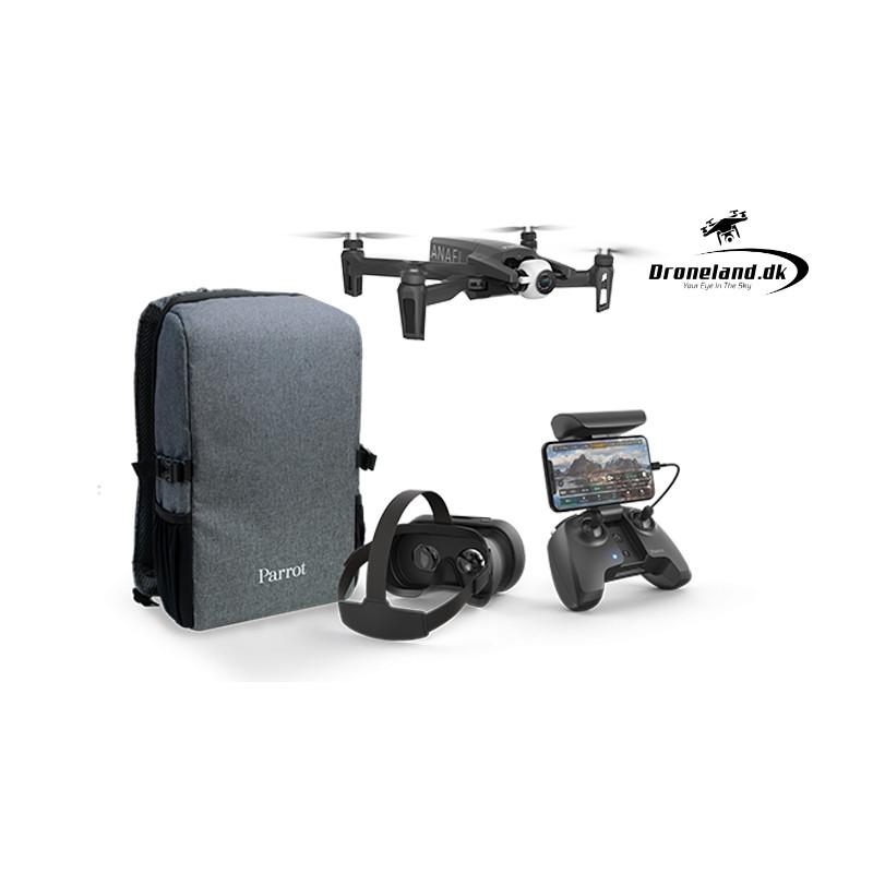 Parrot Anafi FPV – Drone med 4K HDR Kamera & zoom funktion + FPV briller