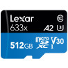 Lexar 633X - 512GB - MicroSDHC/SDXC