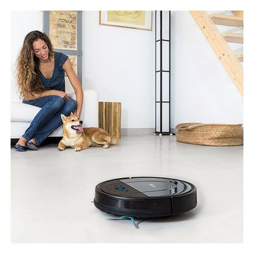 Robot Vacuum Cleaner Cecotec Conga 1690 Pro 550 ml 64 dB 2000 Pa WIFI Black