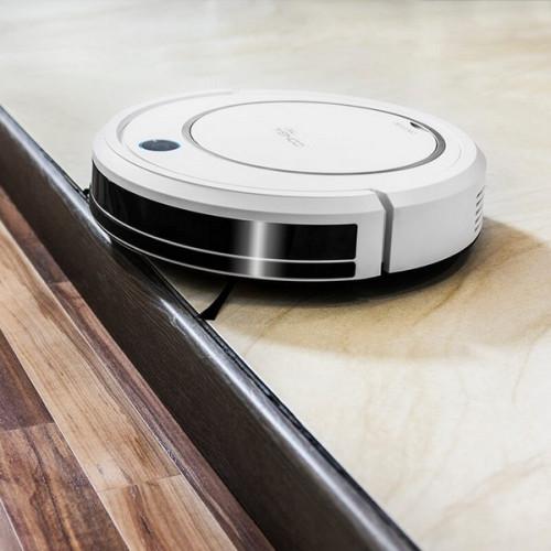 Robotstøvsuger Cecotec Conga 750 300 ml 70 dB Hvid