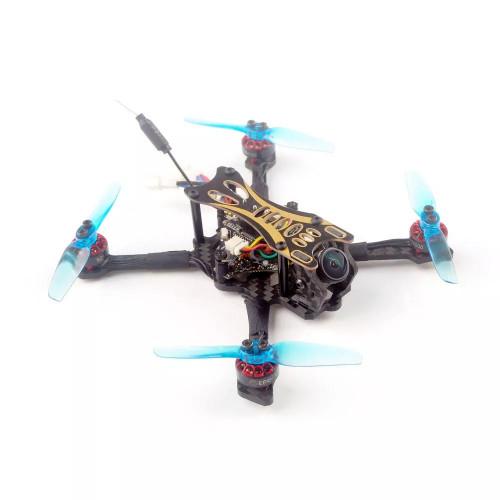 Eachine Novice 2 RTF -FPV drone sæt med racing drone + Ekstra batteri + FPV briller + Taske