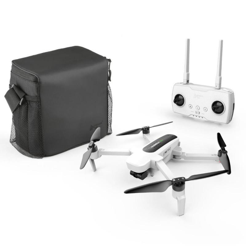 Hubsan Zino drone med 4K UHD kamera hvid + Transport taske