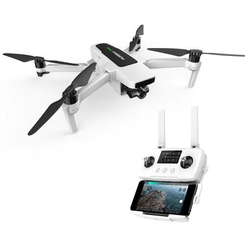 Hubsan Zino 2 - Drone Med 4K 60 fps, 8KM rækkevidde, 33 min. flyvetid & Follow-Me