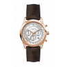 Luigi Ricci Eleganza X10 Mens Wrist Watch with rose gold and leather strap