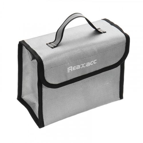 Brandsikker taske ti LiPo batterier - perfekt til sikker opbevaring af batterier
