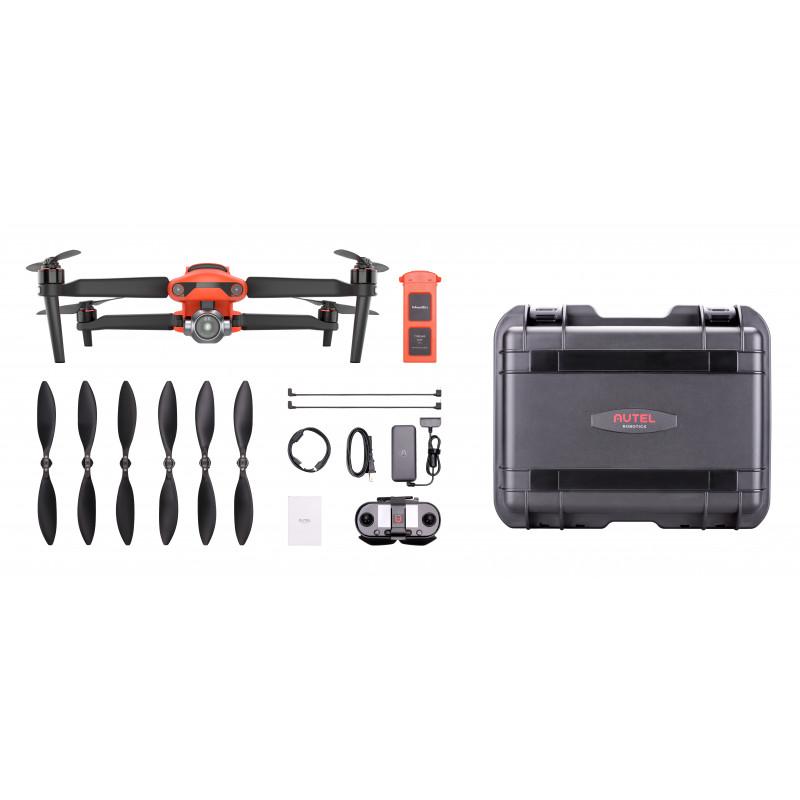 Autel EVO 2 Pro Rugged Bundle (V2) – Startakke med drone med fuld 1″ Sony sensor og 6K kamera + Ekstra tilbehør