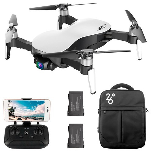 JJRC X12 Aurora - Foldbar mini drone med 4K/1080P kamera med zoom funktion
