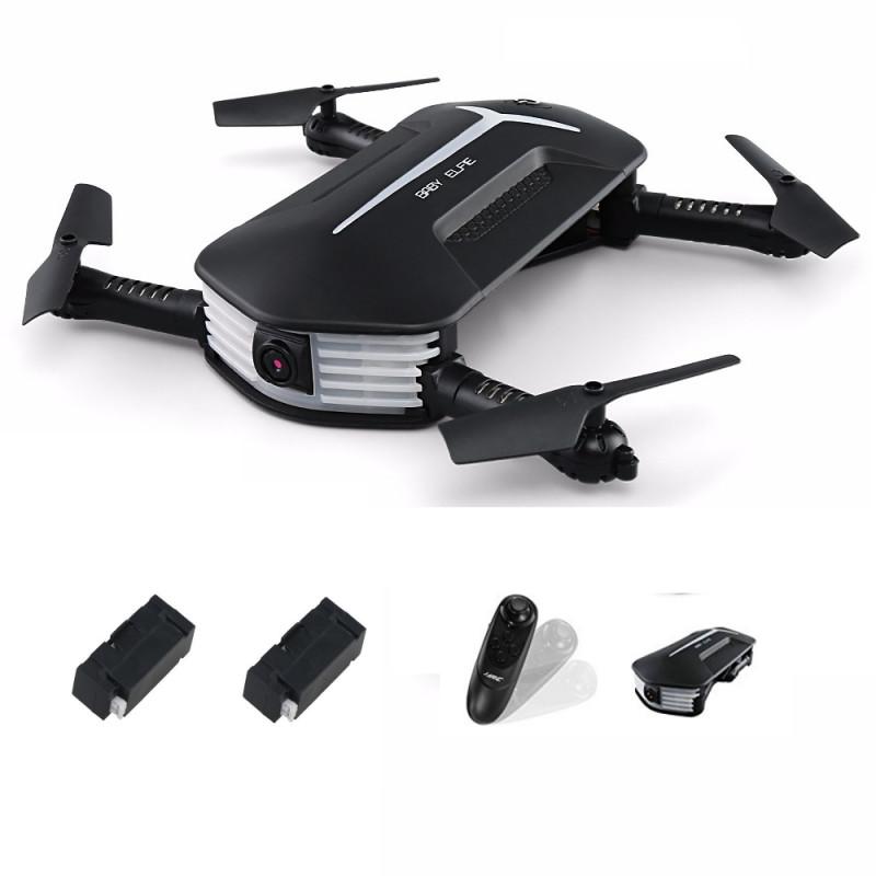 JJRC Baby Elfie H37 mini drone med HD kamera og FPV + GRATIS Transport taske – Vælg model: – Startpakke med transport taske (HD Drone + Transport