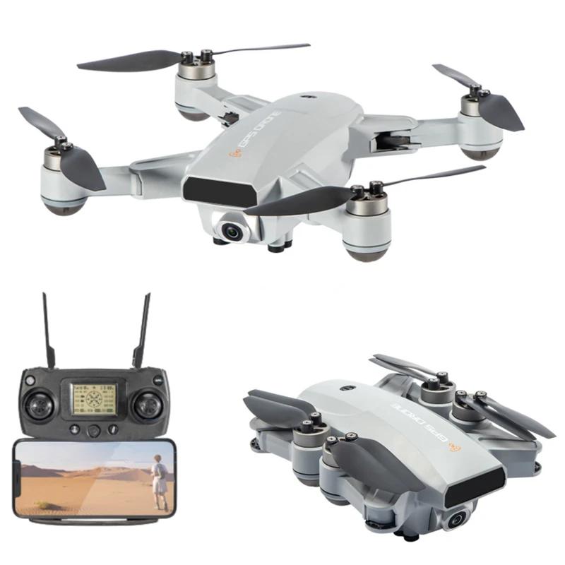 JJRC X16 (6K/1080P) foldbar GPS mini drone med 6K kamera, FPV, børsteløse motorer, follow me + gratis taske – Farvevalg – Metal, Vælg model: –