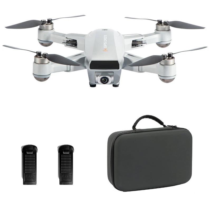 Startpakke med JJRC X16 (6K/1080P) foldbar GPS FPV mini drone med 6K kamera, børsteløse motorer, follow me + gratis taske – Farvevalg – Metal