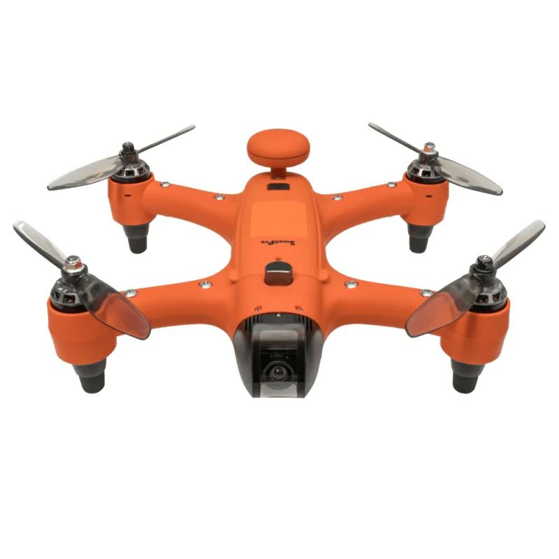 SwellPro SPRY+ Plus – Vandtæt sports drone med 4K kamera, GPS & Follow-Me