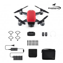 DJI Spark Fly more Combo - Lava Red - Startpakke