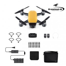 DJI Spark Fly more Combo - Sunrise Yellow - Startpakke