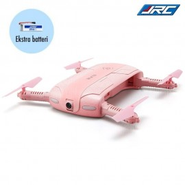Elfie (Pink) + Ekstra Batteri - Selfie Drone