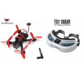 Furious 215 + Fat Shark Dominator HD2 + Modtager