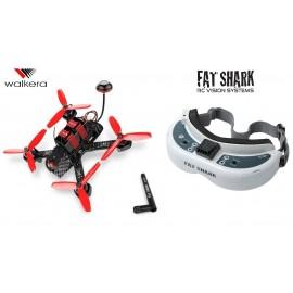 Furious 215 + Fat Shark Dominator HD2 + Modtager