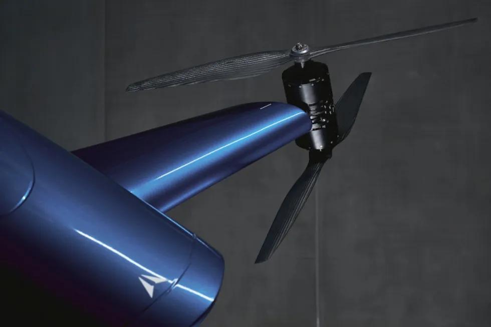Airspeeder bemandede racing droneløb