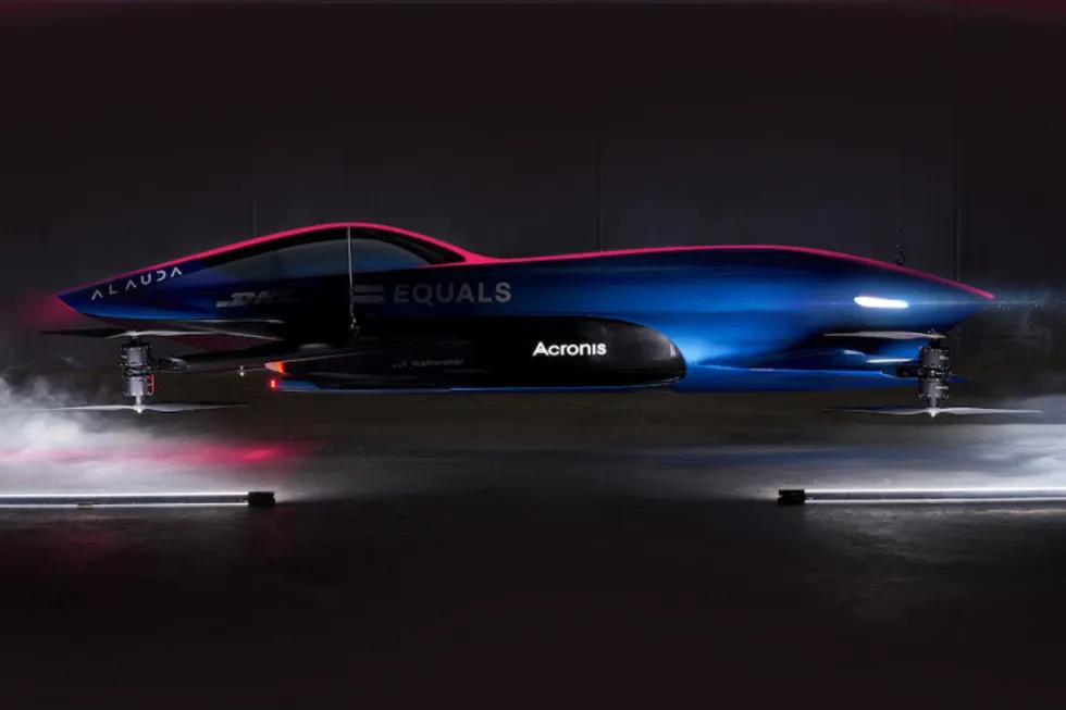 Airspeeder - Bemandede racing droneløb