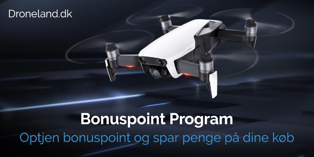 Bonuspoint Program - Køb droner med kamera med rabat