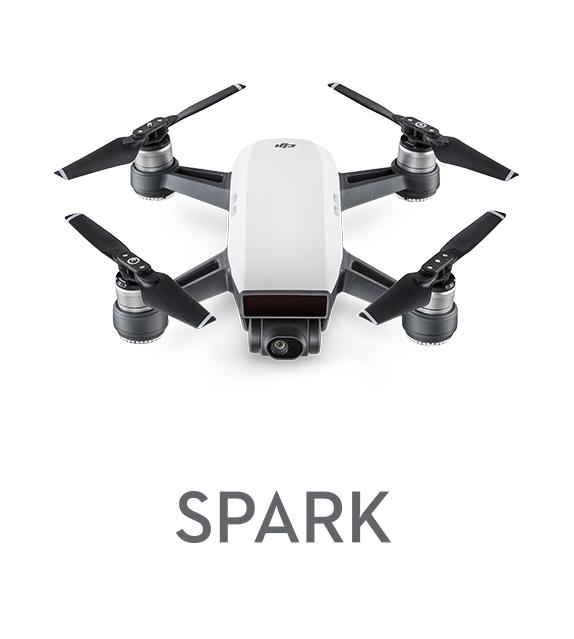 DJI Spark drone med kamera