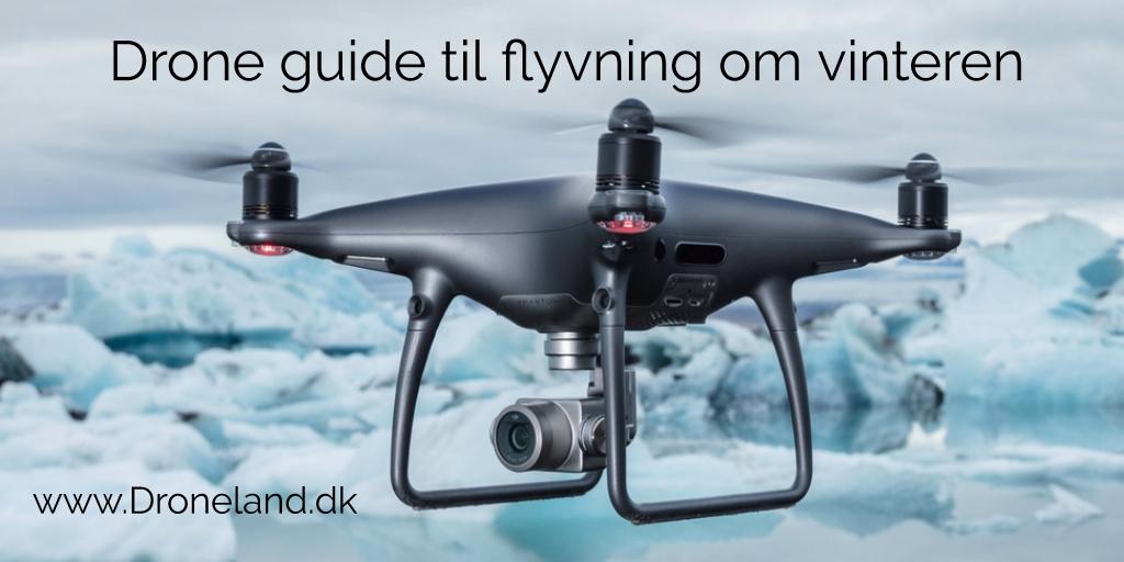 Drone guide til drone flyvning om vinteren