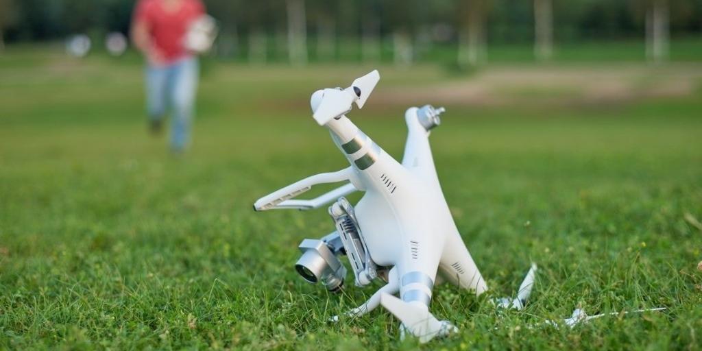 Dronestyrt - Sådan fordhindrer du styrt med din dron