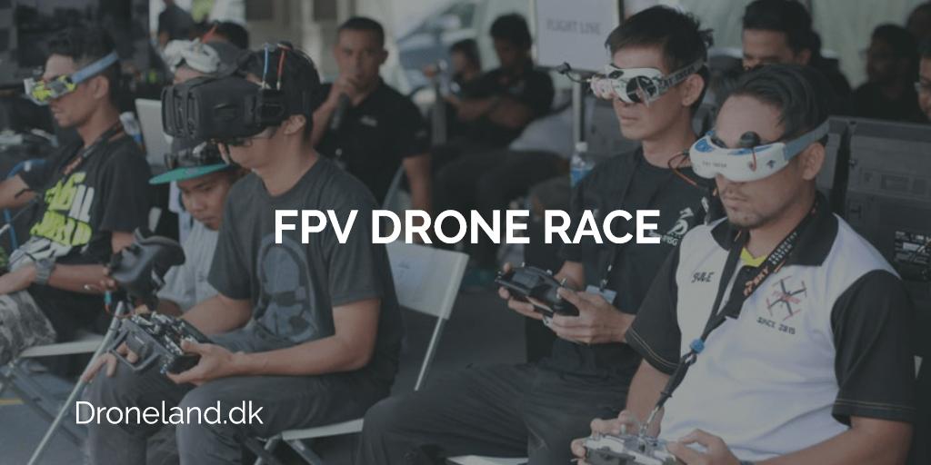 Guide til FPV drone race