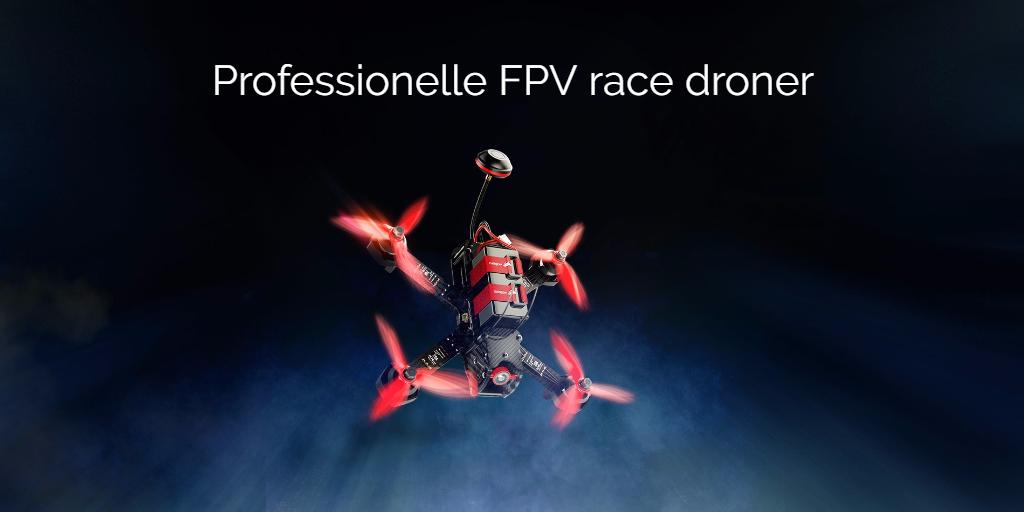 FPV racer droner med kamera
