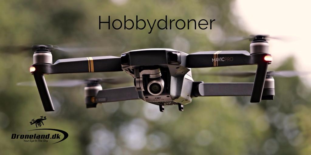 Hobbydroner med kamera