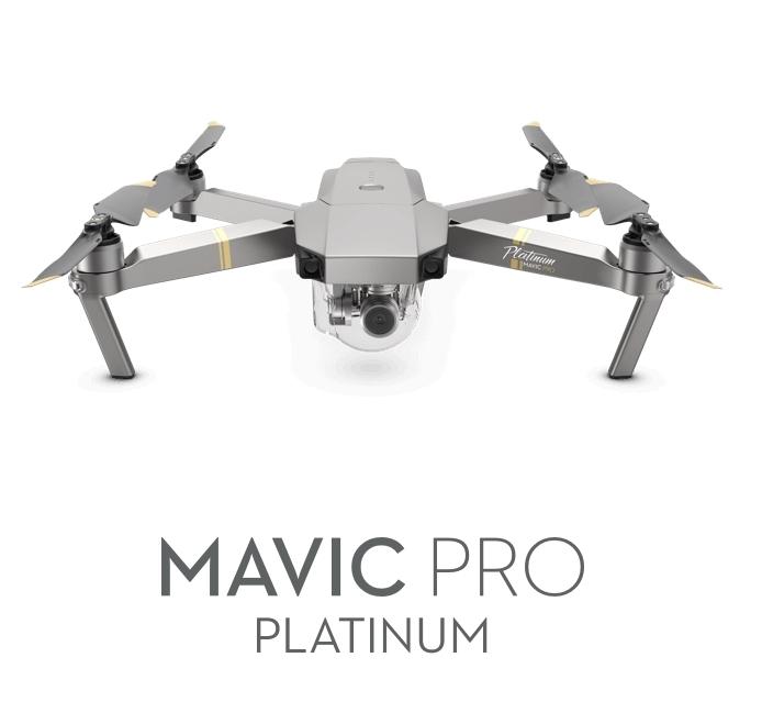 DJI Mavic Pro Platinium drone med kamera