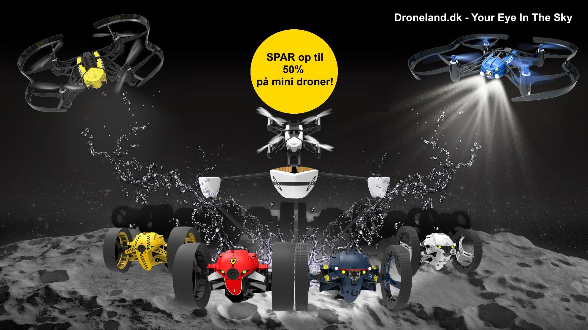 Køb minidroner med kamera til salg på tilbud billigt online