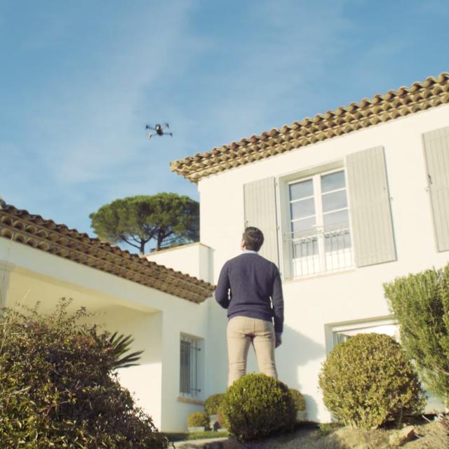 Parrot Bebop Pro 3D Modeling - Professionel drone med kamera til salg online