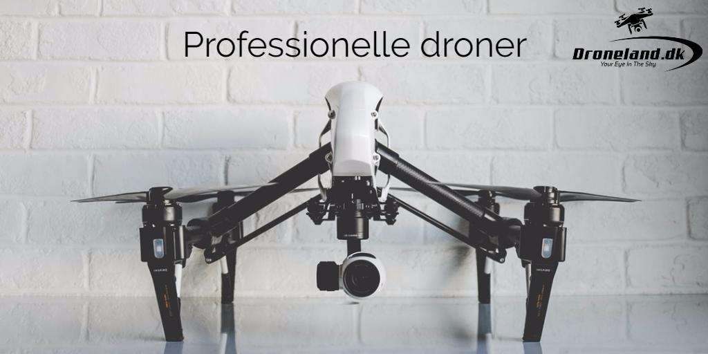 Professionelle droner med kamera